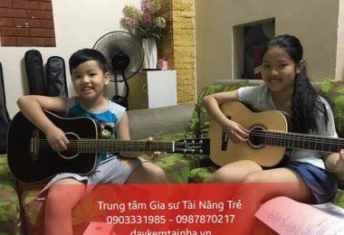 Gia sư đàn Guitar uy tín tại nhà