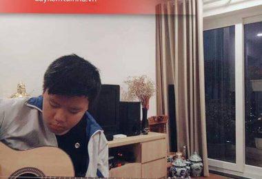 Gia sư dạy đàn Guitar uy tín tại nhà