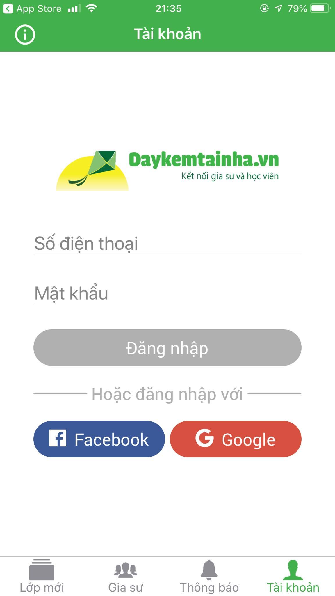App Daykemtainha.vn Guitar