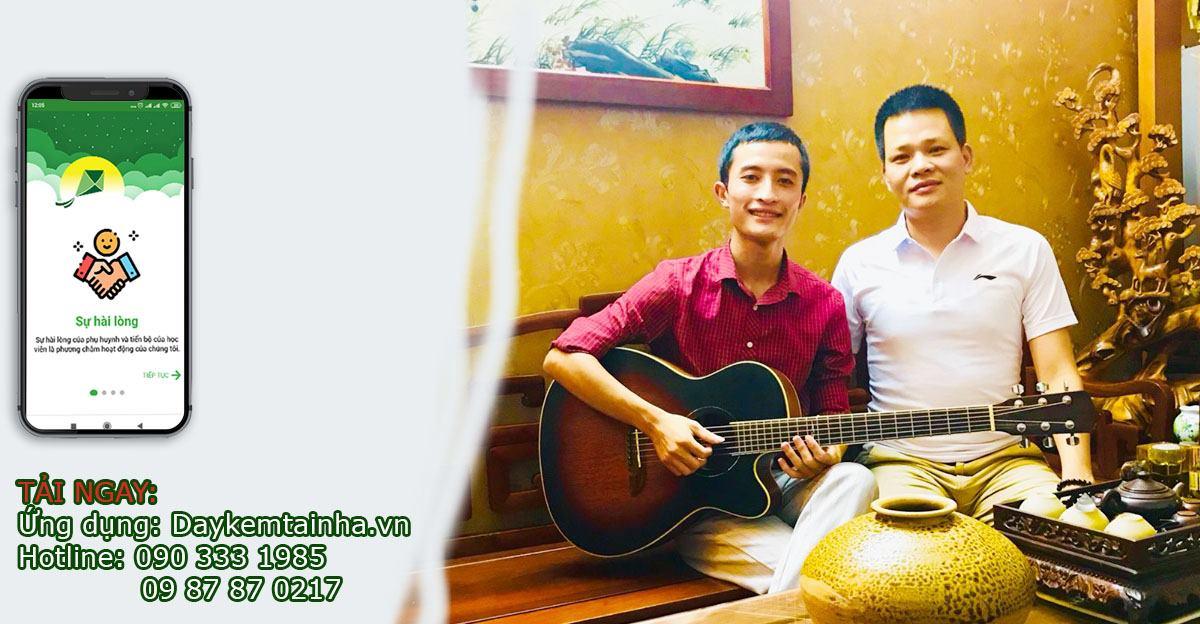 Gia sư dạy Guitar tại nhà
